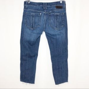 Burberry Brit Upcycled Burrington Skinny Leg Jeans